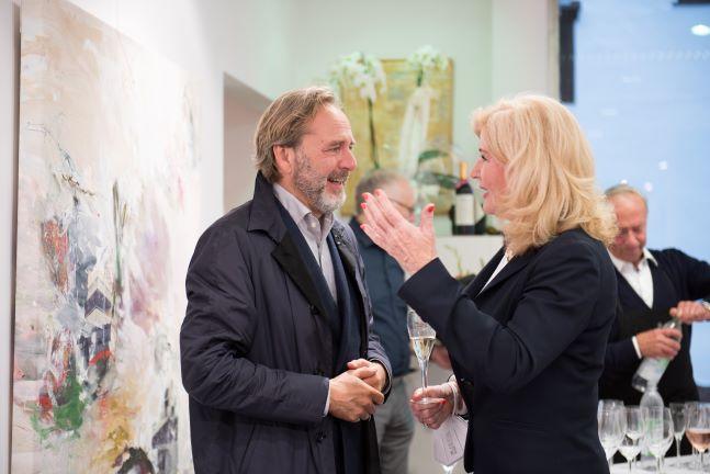 Rebecca Niehues-Paas mit Michael beck