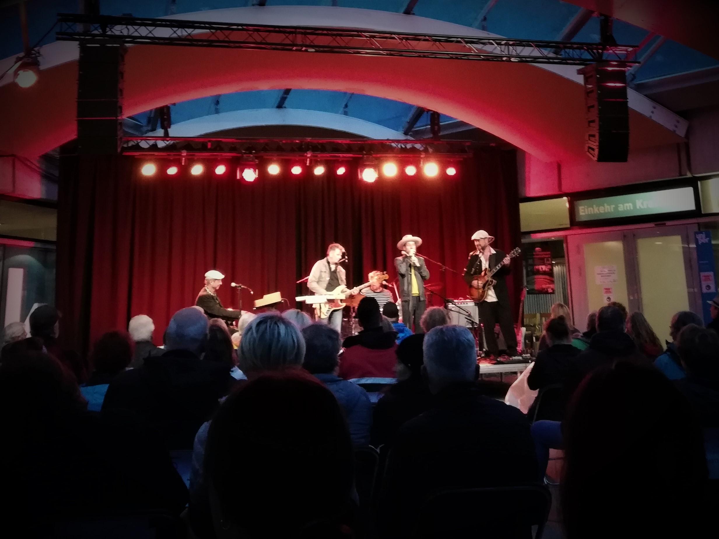 Open-Air-Konzert am Walchenseekraftwerk