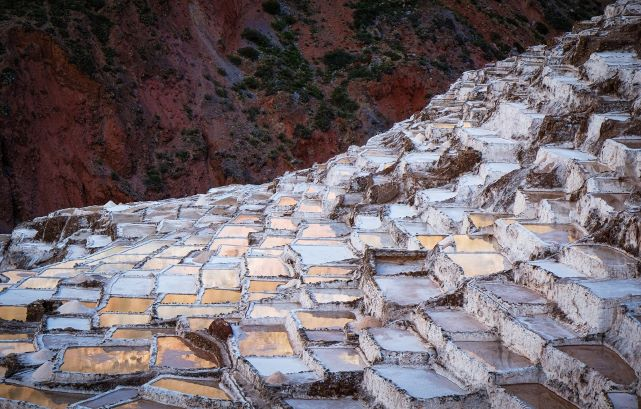 Saltterasse Bolivien