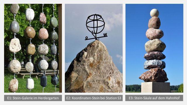 Geo-Lehrpfad Steine