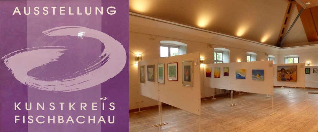 Blick in die Ausstellung des Kunstkreises Fischbachau (Foto:RS)